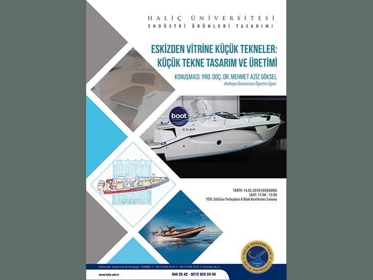 Eskizden Vitrine Küçük Tekneler: Küçük Tekne Tasarım ve Üretimi