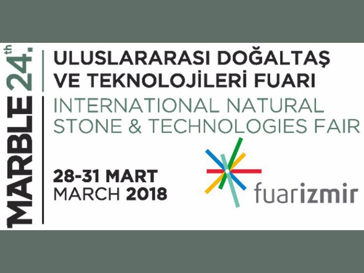 24. Marble - Uluslararası Doğaltaş ve Teknolojileri Fuarı