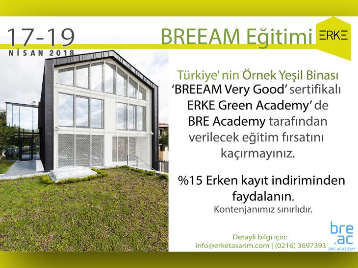 ERKE Green Academy'de BREEAM Eğitimi