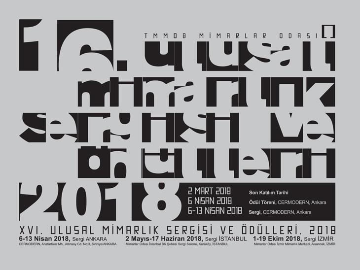 16. Ulusal Mimarlık Ödülleri Sergisi - İzmir