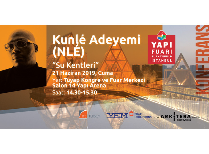 """Kunlé Adeyemi Konferansı: """"Su Kentleri"""""""