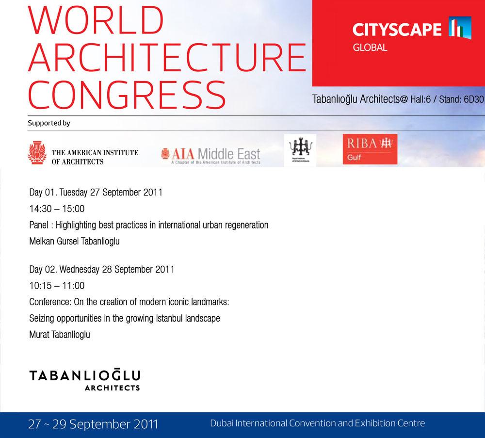 World Architecture Congress - Cityscape Global