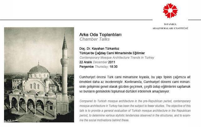Türkiye'de Çağdaş Cami Mimarisinde Eğilimler