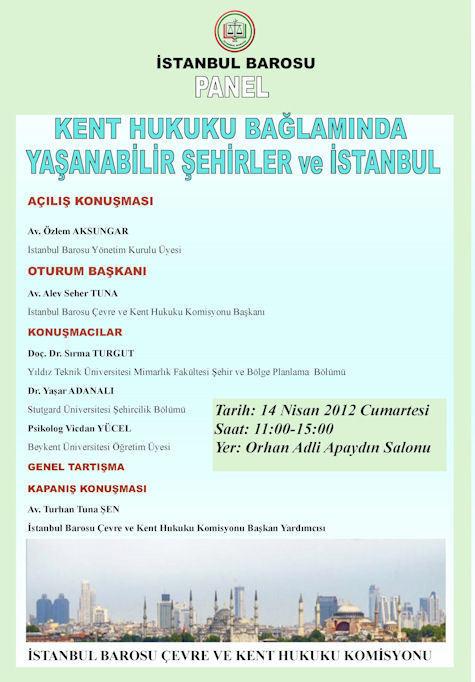 Kent Hukuku Bağlamında Yaşanabilir Şehirler ve İstanbul