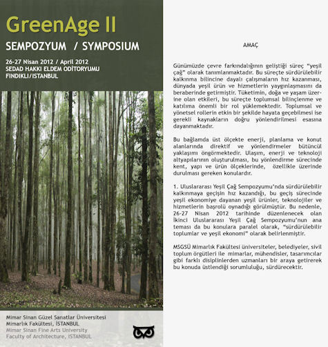Green Age 2012 Uluslararası Sempozyum