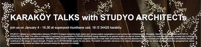 Karaköy Talks with Studyo Architects