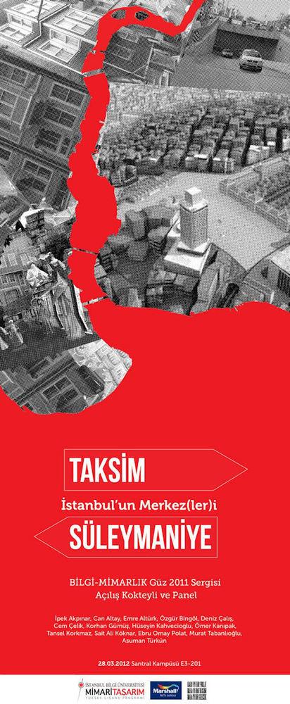 İstanbul'un Merkezleri: Taksim/Sülemaniye Panel ve Sergi Açılışı