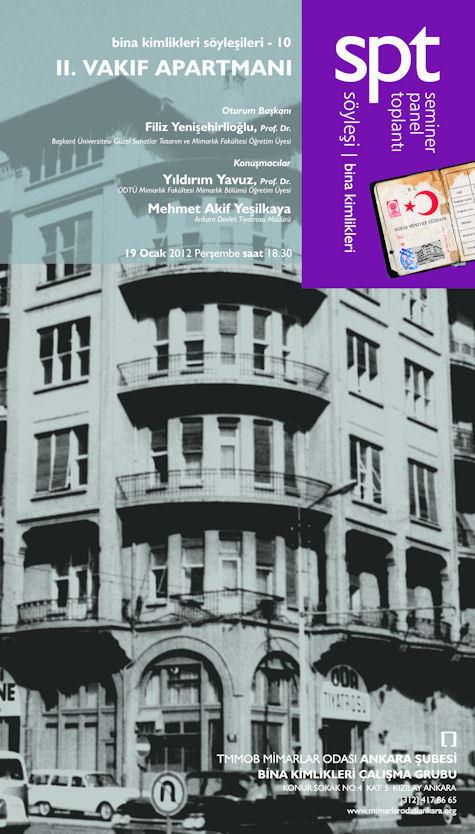 Bina Kimlikleri Söyleşileri 10 - II. Vakıf Apartman