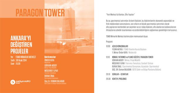 Ankara'yı Değiştiren Projeler 10/10 Forumları: 9/10 Paragon Tower
