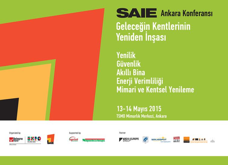 SAIE Ankara Konferansı: Geleceğin Kentlerinin Yeniden İnşası