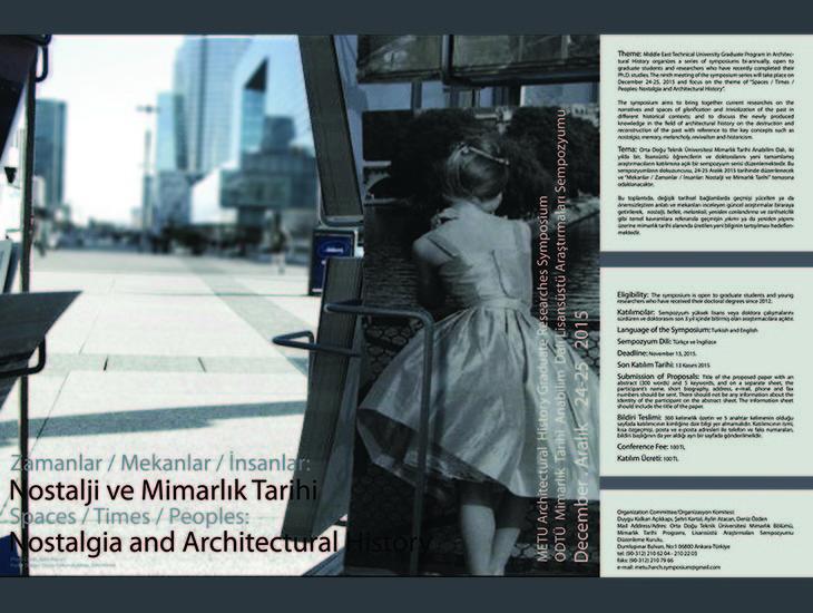 Mekanlar/ Zamanlar/ İnsanlar: Mimarlık Tarihi ve Nostalji