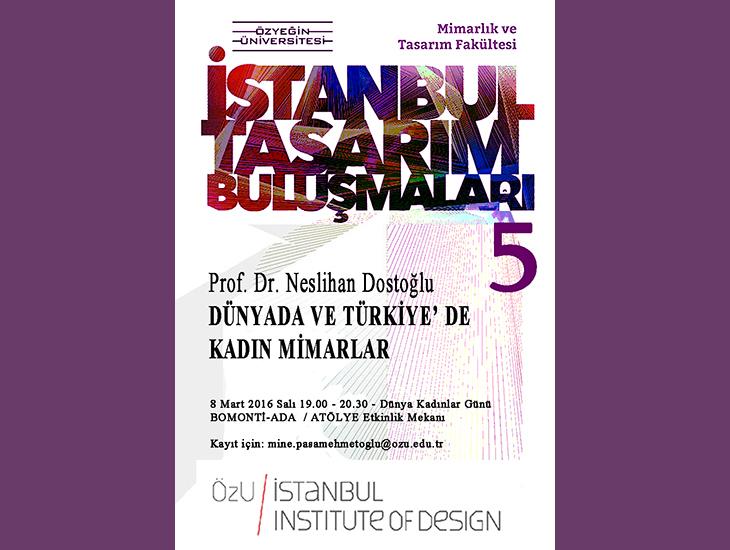 İstanbul Tasarım Buluşmaları 5