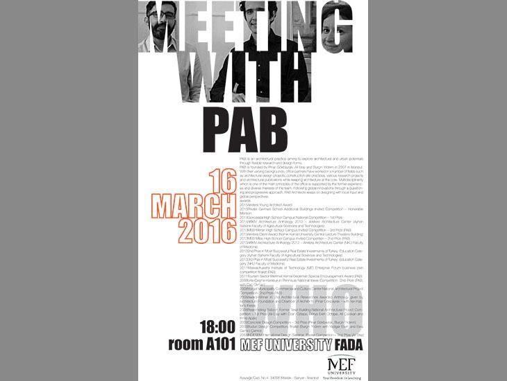 PAB Mimarlık ile Buluşma