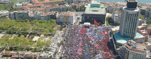 Taksim'de...