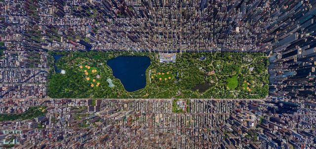 Central Park mı Buyurdunuz?