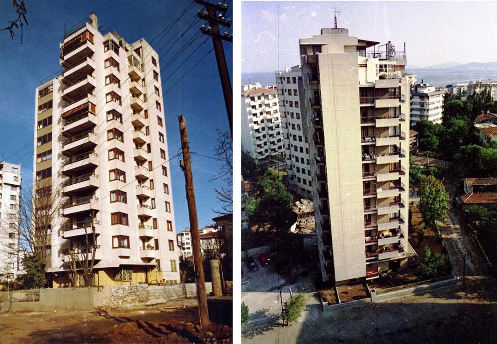 Geç Modern Mimarlık Mirası Örneklerinden Ayhan Tayman'ın Fenerbahçe'deki Tayman Apartmanı Yıkılıyor