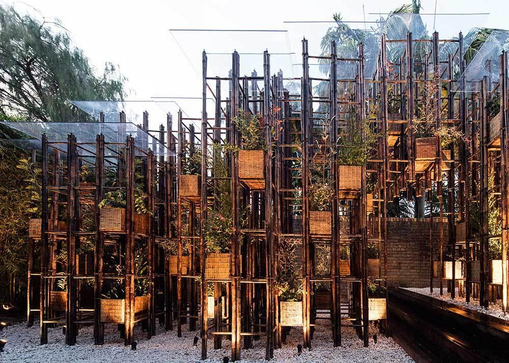 Grid Bambu Pavyonu