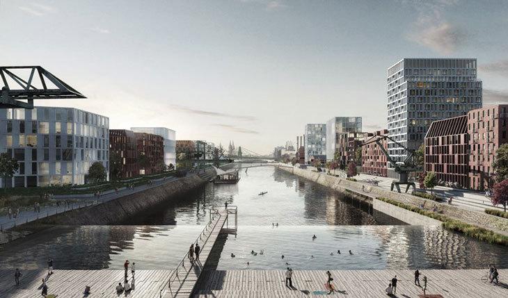 COBE, Köln'ün Tarihi Limanını Cazibe Merkezine Dönüştürecek