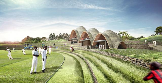 Ruanda'da Toplumsal Gelişime Hizmet Eden Bir Kriket Stadyumu