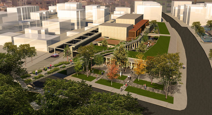 Emre Arolat Architecture Tarafından Tasarlanan Bergama Kültür Merkezi Açılıyor