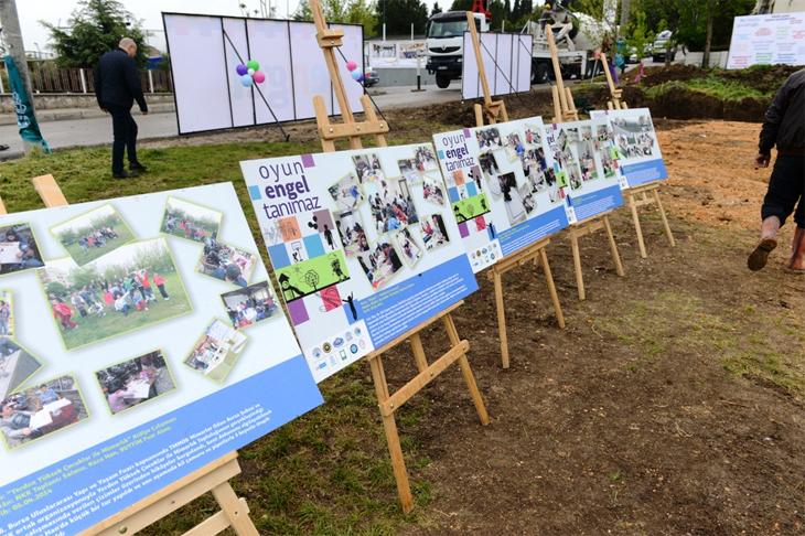 Nilüfer'de 'Oyun Engel Tanımaz Parkı'nın Temelleri Atıldı