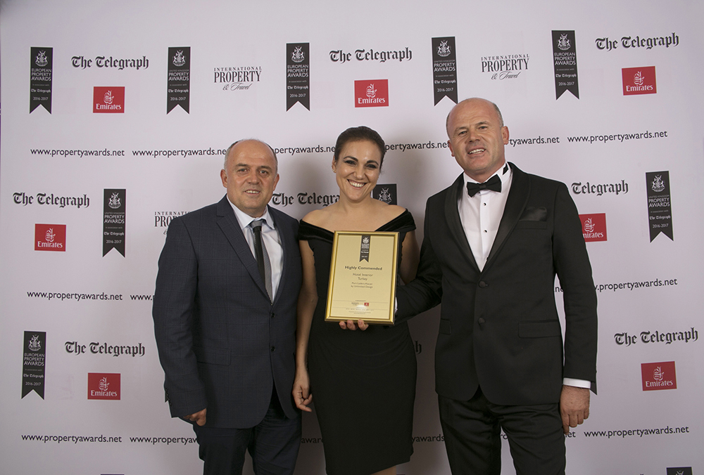 Unlimited Design'a European Property Awards'tan Ödül