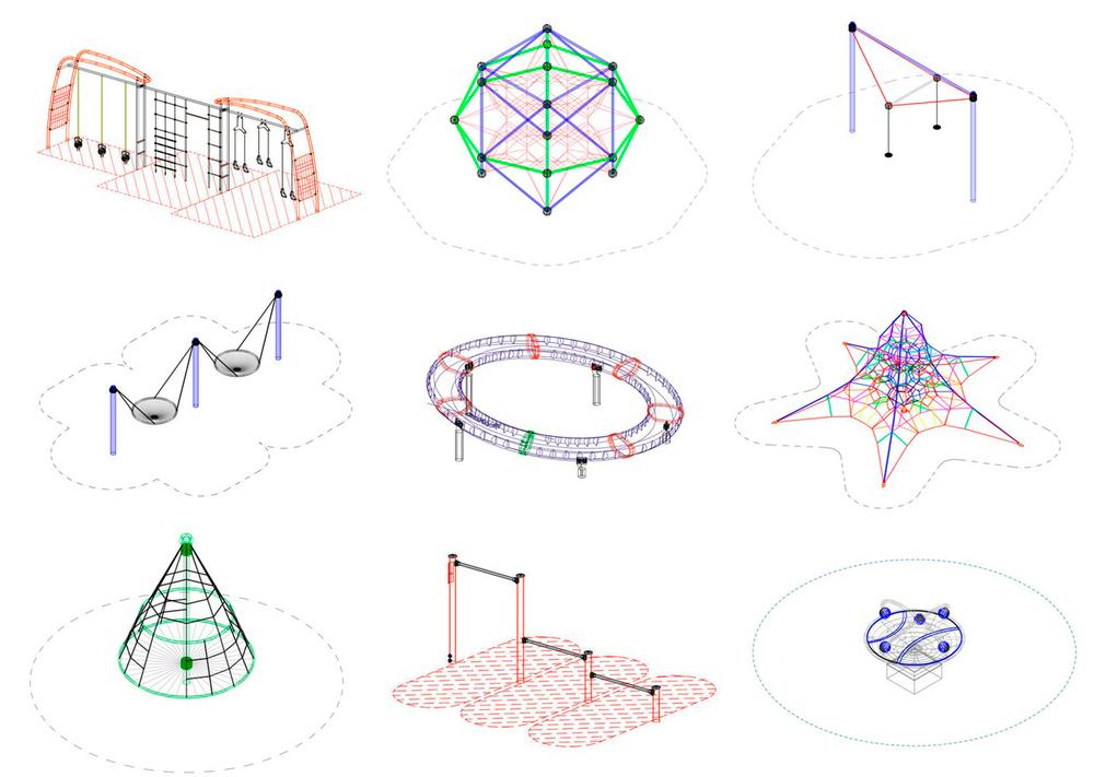 Projesinde Oyun Alanı İsteyenlere Açık Erişimli Modeller