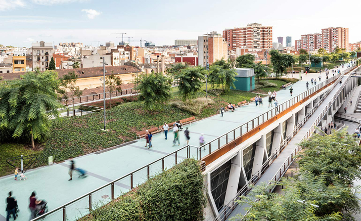 Barselona'nın High Line'ı