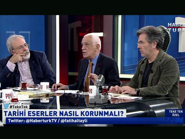 Teke Tek Programında Türkiye'de Mimarlık Konuşuldu