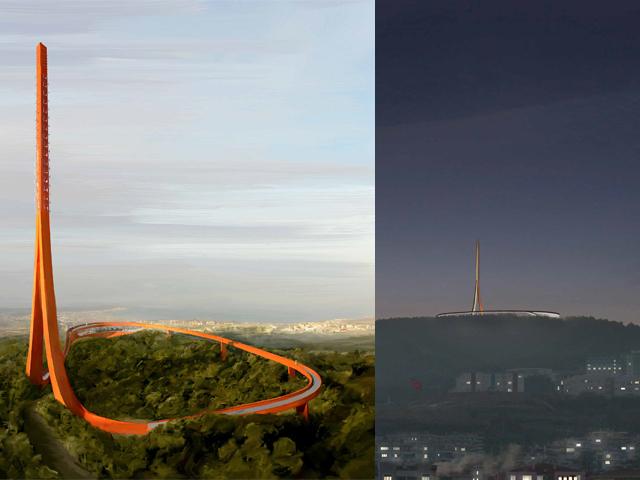 Çanakkale Anten Kulesi'nin Statik Projesine Dair