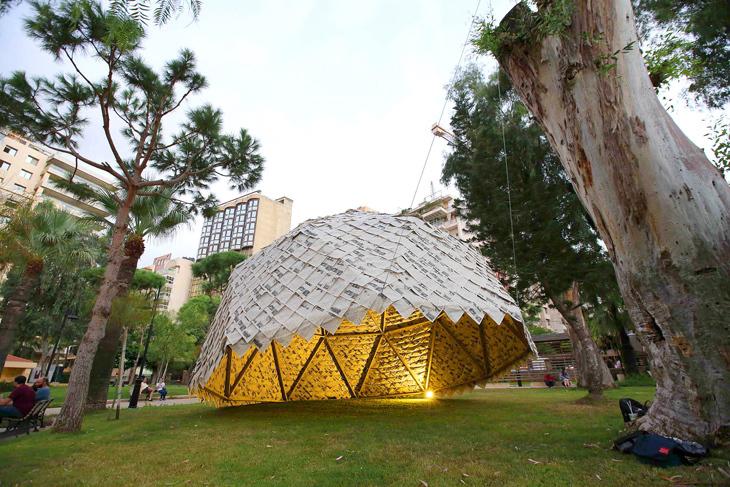 Beyrut'un Bahçesinde Kağıttan Kubbe