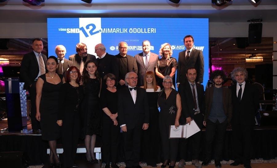 TSMD 12. Mimarlık Ödülleri Sahiplerini Buldu