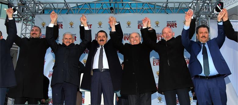 "Başbakan Yıldırım'dan Topbaş'a ""Uçak"" Talimatı"