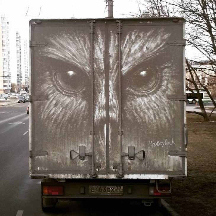 Kirli Araçlardan Sanat Eserlerine...
