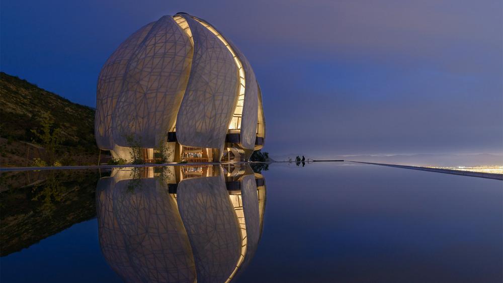 Şili'de İnşa Edilen Bahai Tapınağı