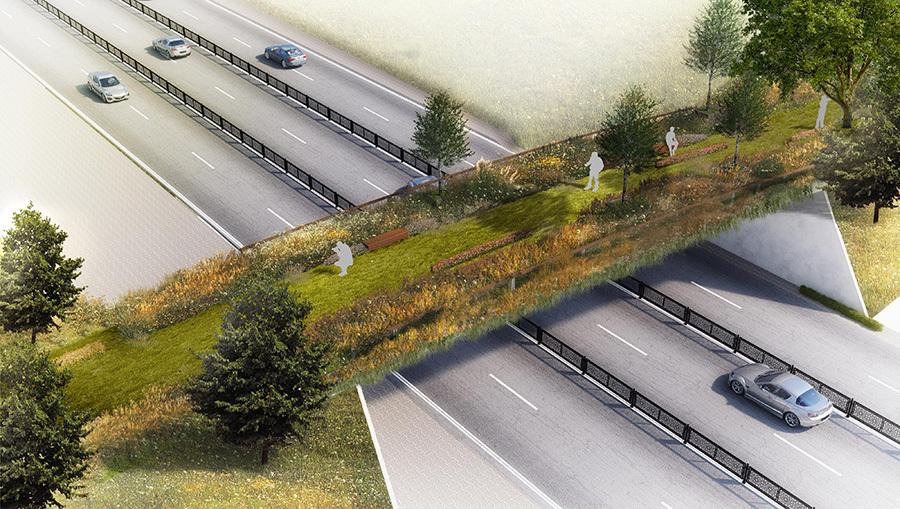 Taksim-Maçka Arasına Ekolojik Yaya Köprüsü