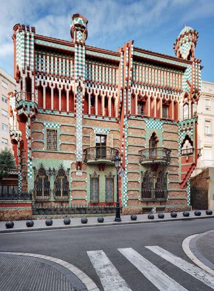 Gaudí'nin İlk Konut Projesi Casa Vicens, Müze Oluyor
