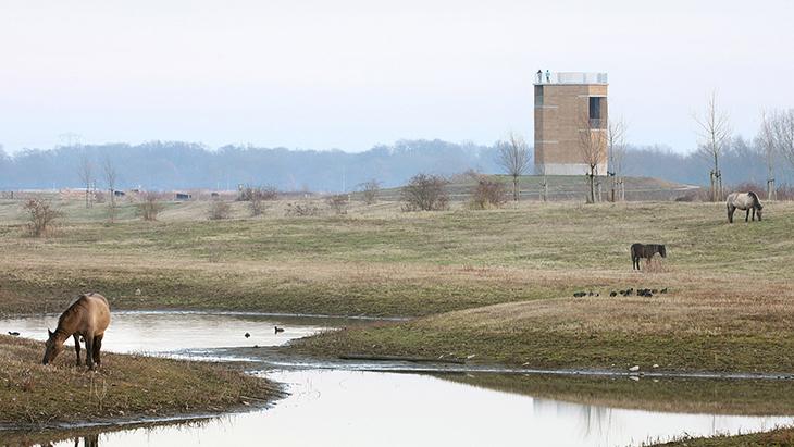 De Gouden Liniaal Architecten'den Toprak Gözlem Kulesi