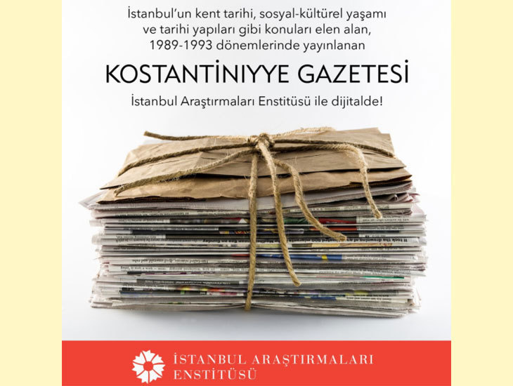 1989-1993'ün Kostantıniyye Gazetesi Dijital Olarak Yayında