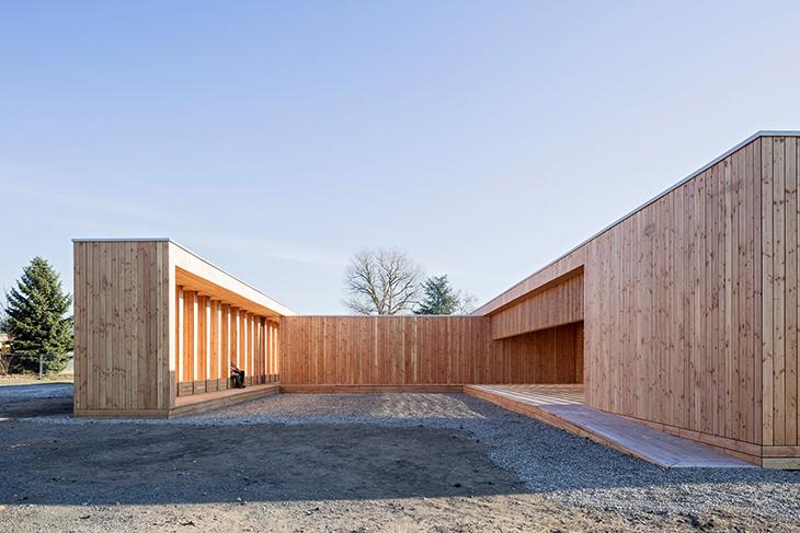 Mimarlık Öğrencilerinden Toplum Merkezi Tasarımı