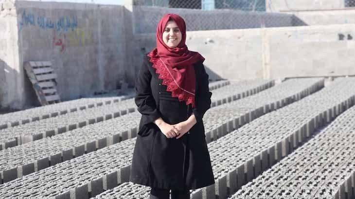 Genç Mühendisler, Atıklar ile Gazze'yi Yeniden İnşa Ediyor
