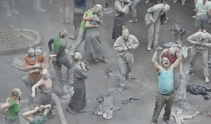 Kabuklarınızdan Sıyrılın! Şehirde Sanat ve G20 Protestosu