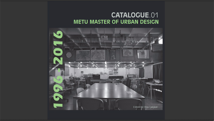 METU Master of Urban Design, 1996-2016