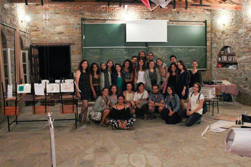 Nesin Sanat Köyü 2017 Mimarlık Yaz Okulu Programı'nın İkincisi Yapıldı