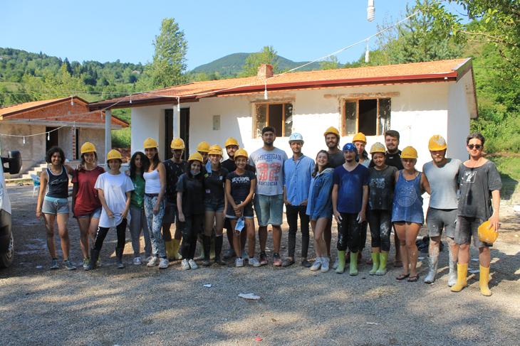 25 Mimarlık Öğrencisinden 25 Yıla Dokunan Gönüllü Proje