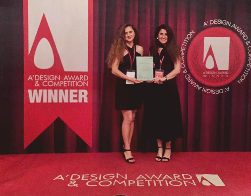 Tasarımca Design Office  A'Design Award'dan Ödülle Döndü
