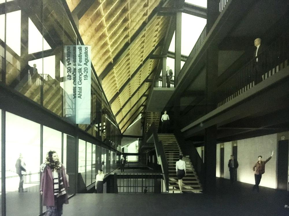 Ahlat Gençlik Kampı Mimari Proje Yarışması Sonuçlandı