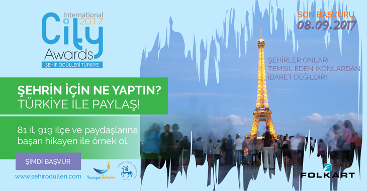 Şehir Ödülleri Türkiye 2017