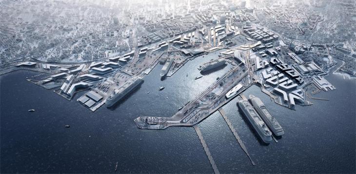 Tallinn Limanı İçin Düzenlenen Yarışmayı Zaha Hadid Architects Kazandı