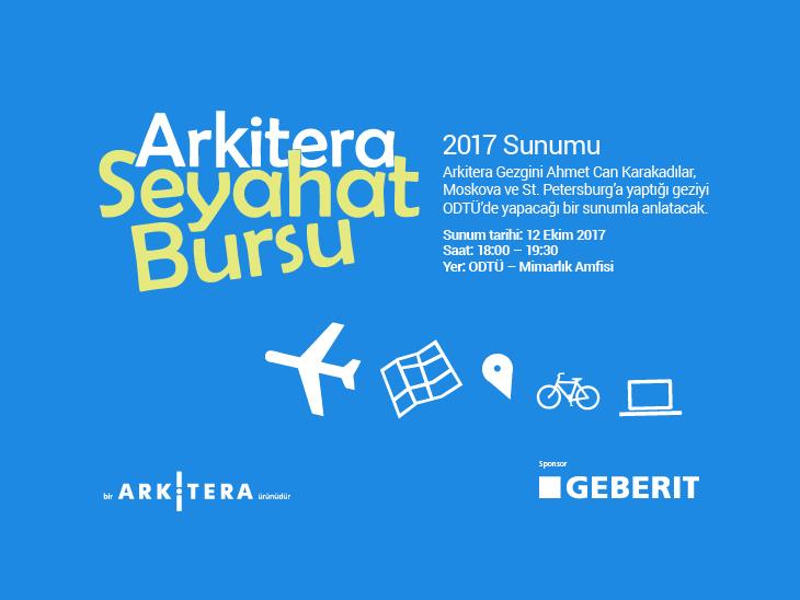 Arkitera Seyahat Bursu 2017 Sunumu